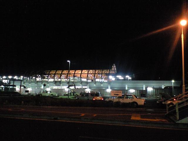 新高知駅の夜景