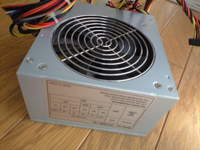 電源GS-400Wを再利用