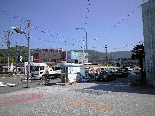 一宮バス停から岡山駅へ