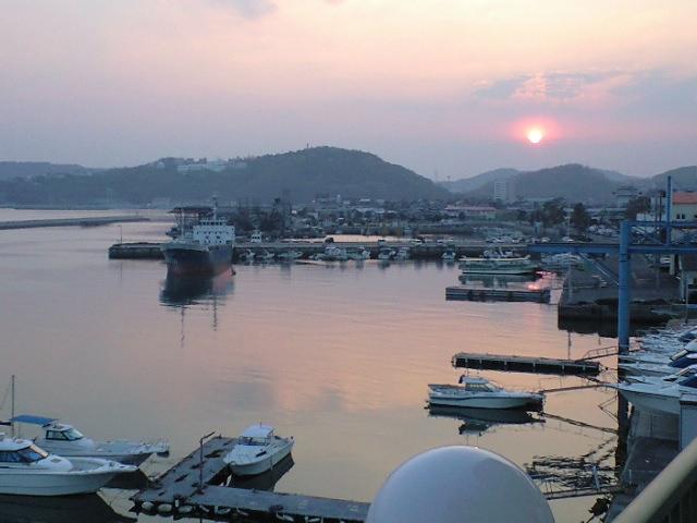 瀬戸内のエーゲ海 牛窓の夕日