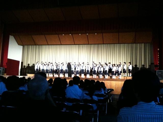 土佐女子中高校の音楽会