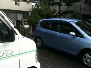 久しぶりに洗車