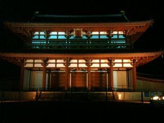 夜の朱雀門