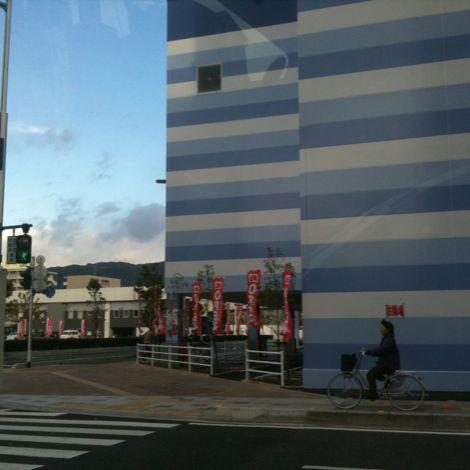 高知駅前の風景