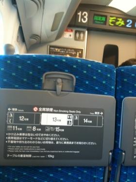 岡山駅からのぞみ20号