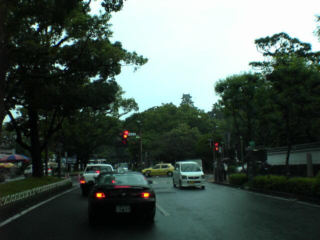 台風が近づく雨の日曜日